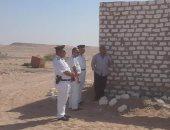 إزالة التعديات على 13 ألفا و300 فدان من أراضى أملاك الدولة بالغردقة