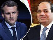 الرئاسة الفرنسية: ماكرون يستقبل الرئيس السيسىي فى 24 أكتوبر الجارى