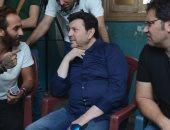بالصور.. هانى شاكر فى كواليس تصوير أغنيته الجديدة مع نبيل مكاوى