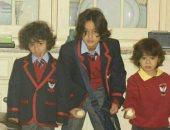 """ميدو ينشر صورة لأبنائه """"على و حسين و هاشم """" على إنستجرام"""