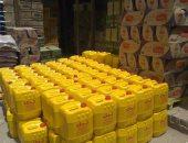 بالصور.. شرطة التموين تضبط 11 طن زيت وعسل وطحينة مجهولة المصدر