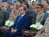 بالفيديو.. السيسي: يانبقى دولة مظبوطة بالأصول.. يا إما والله ماستحق أعيش