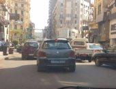 قارئ يرصد سيارة بدون لوحات معدنية بشارع طلعت حرب