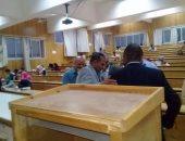 رئيس جامعة أسوان يتفقد سير امتحانات الكليات
