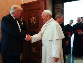 بالصور..الرئيس الأمريكى يصل الفاتيكان للقاء البابا فرانسيس