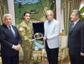 محافظ جنوب سيناء يلتقى بقائد القوات متعددة الجنسيات