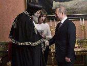 ننشر صور لقاء البابا تواضروس مع الرئيس الروسى خلال زيارته لموسكو