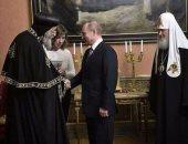 بوتين للبابا تواضروس: علاقاتنا طيبة مع الشعب المصرى على اختلاف دياناته