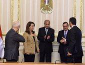 بالصور.. رئيس الوزراء يشهد توقيع اتفاقية بين التضامن والبترول لتوصيل الغاز للمنازل