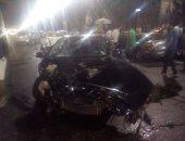مصرع سيدة و إصابة أطفالها الثلاثة صدمتهم سيارة أثناء عبورهم الدائرى