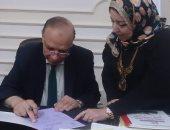 محافظ القاهرة يعتمد نتيجة الشهادة الإعدادية بنسبة نجاح 79.3%