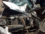 مصرع شخص وإصابة 3 آخرين فى حادث تصادم سيارتين بمطلع كوبرى فيصل