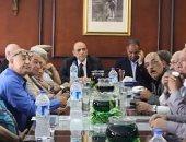 مدير أمن دمياط يلتقى عددًا من الضباط السابقين لبحث مطالبهم