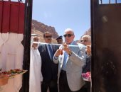 بالفيديو.. محافظ جنوب سيناء يفتتح مشروعات بتكلفة 6 ملايين جنيه بسانت كاترين