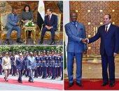 السيسى: منفتحون على التعاون مع دول أفريقيا وعدم التدخل فى شؤونها