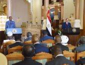 رئيس غينيا: السيسي له ثقل ونعتمد على قيادته ودعمه للدول الأفريقية