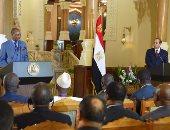 """السيسي لـ""""رئيس غينيا"""": نجدد العهد بتطوير آليات العمل الأفريقى المشترك"""