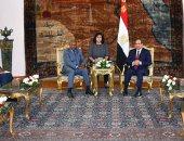 السيسي: ناقشت مع رئيس غينيا سبل تعزيز العلاقات الثنائية بين البلدين