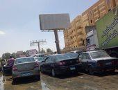 مرور القاهرة ينتهى من أعمال إصلاحات كسر ماسورة مياه بمحور صلاح سالم