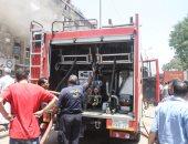 السيطرة على حريق بمخزن فى مدينة السلام دون إصابات