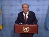 بعد تشريد 160 ألف.. الأمين العام للأمم المتحدة يدعو لوقف تصعيد للعنف فى سوريا