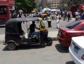 القبض على سائق توك توك لتعديه على طالب بسبب الخلاف على الأجرة بالمعصرة