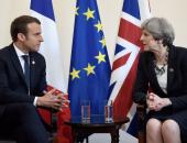 رئيسة وزراء بريطانيا تناقش هاتفيا مع الرئيس الفرنسى التطورات فى سوريا