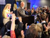 بالصور.. المرشح الجمهورى يحتفل بفوزه بمقعد مونتانا فى مجلس النواب الأمريكى