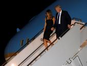 ترامب يحضر حفل زفاف وزير الخزانة فى واشنطن برفقة زوجته