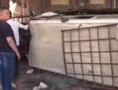 "بالفيديو.. سائق ""ميكروباص"" متهور يقتحم محطة ويدهس مواطنين فى نهار رمضان بالمهندسين"