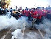 الشرطة الإيطالية تستخدم الغاز المسيل للدموع لتفريق مهاجرين حاولوا دخول فرنسا