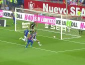 نهائى كأس إسبانيا.. تعادل سلبى بين برشلونة وألافيس فى 15 دقيقة وإصابة خطيرة
