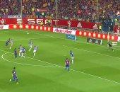 نهائى كأس إسبانيا.. برشلونة يتقدم وألافيس يتعادل فى 3 دقائق