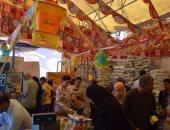 """بالصور.. إقبال الأهالى على معرض سوبر ماركت """"أهلاً رمضان"""" بالغردقة"""