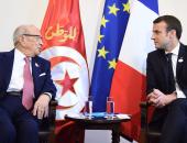 الرئيس الفرنسى فى تأبين رئيس تونس: تعلق بالحرية والانفتاح من أجل بلاده