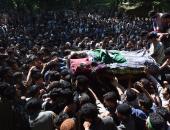فرض حظر التجول فى منطقة كشمير الهندية بعد مقتل زعيم متمرد