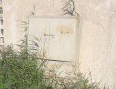 """مياه صرف أسفل """"كابينة كهرباء"""" تصيب أهالى مساكن عثمان بمدينة 6 أكتوبر بالذعر"""