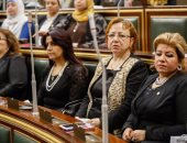 بالصور .. الحزن يسيطر على النواب فى الجلسة العامة بسبب حادث المنيا
