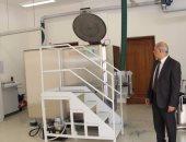 رئيس جامعة كفر الشيخ يتابع طرق التخلص من النفايات بالمستشفى الجامعى