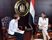 سحر نصر تبحث مع سفيرة فنلندا زيادة استثمارات بلادها فى مصر