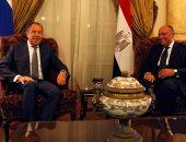 وزيرا خارجية مصر وروسيا: حريصون على استئناف الطيران المباشر فى أقرب فرصة
