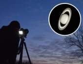 ظاهرة قرب القمر لكوكب زحل ترى بالعين المجردة منتصف الليلة