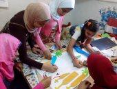 بالصور.. فعاليات وورش فنية لنشر الوعى بثقافة الإسكندرية