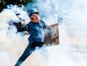 بالصور.. تواصل المظاهرات وأعمال العنف فى فنزويلا ضد الرئيس نيكولاس مادورو