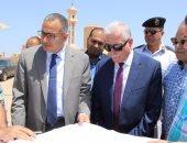 محافظ جنوب سيناء ونائب وزير الاسكان يتفقدان المناطق العشوائية بالطور