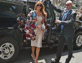 المقدمة الخاصة لميلانيا ترامب تصل القاهرة للإعداد لزيارتها المرتقبة