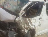 مصرع شخص وإصابة آخر فى حادث تصادم بطريق أبو سمبل - أسوان