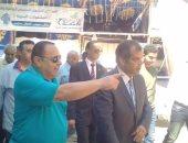 رئيس مدينة المحلة يفتتح منافذ جديدة لصرف المعاشات تيسيرًا على المواطنين