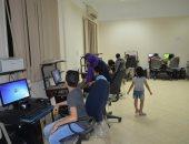 بالصور.. تدريب الأطفال على أساسيات الكمبيوتر  بقصر ثقافة الأقصر