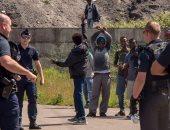 """منظمتان تتهمان الشرطة الفرنسية باستخدام القوة المفرطة مع مهاجرين بمخيم """"كاليه"""""""
